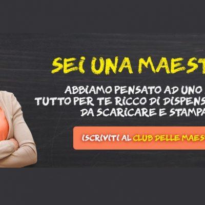 Entra anche tu nel Club delle Maestre: didattica e creatività!