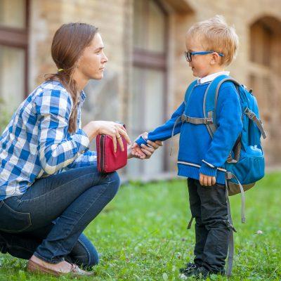 Il primo giorno di scuola visto dai genitori