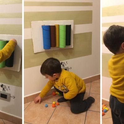 Tubi millecolori per imparare con il metodo Montessori