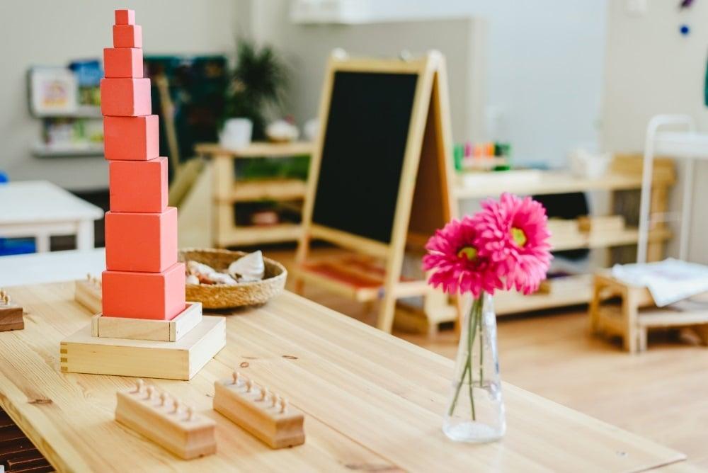 piramide rosa montessori