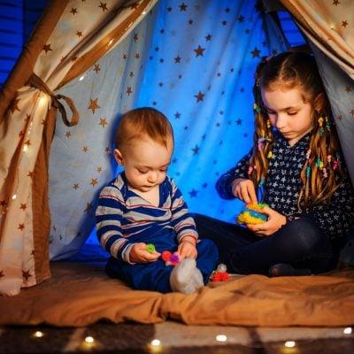 Tende da bambino: viaggiare rimanendo in casa