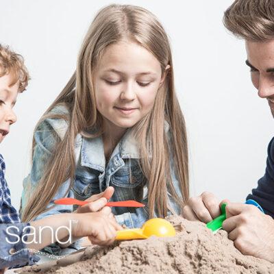 Sabbia cinetica: 5 attività da fare con i bambini