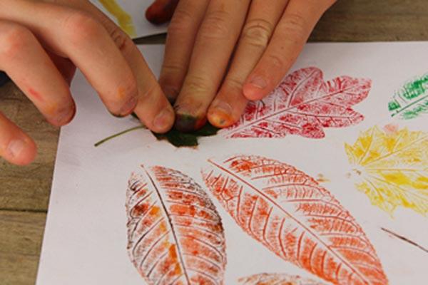 Autunno: lavoretti con le foglie