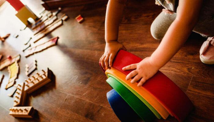 Benefici dell'arcobaleno montessoriano (o steineriano)