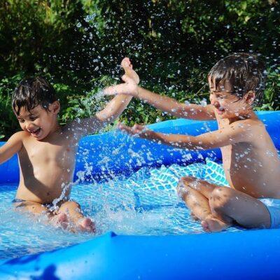 Giochi con l'acqua per bambini