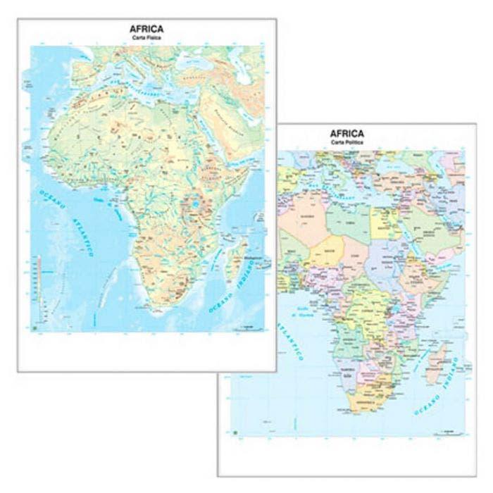 Cartina Giografica Africa.Carta Geografica Africa