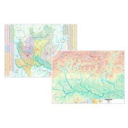La Cartina Fisica Della Lombardia.Carta Geografica Lombardia